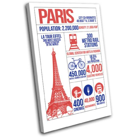 Paris City Infographic Typography - 13-6086(00B)-SG32-PO